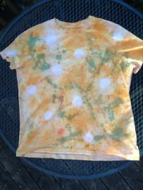 tie-dye: marbles